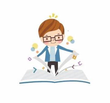 手軽に読書している人の画像