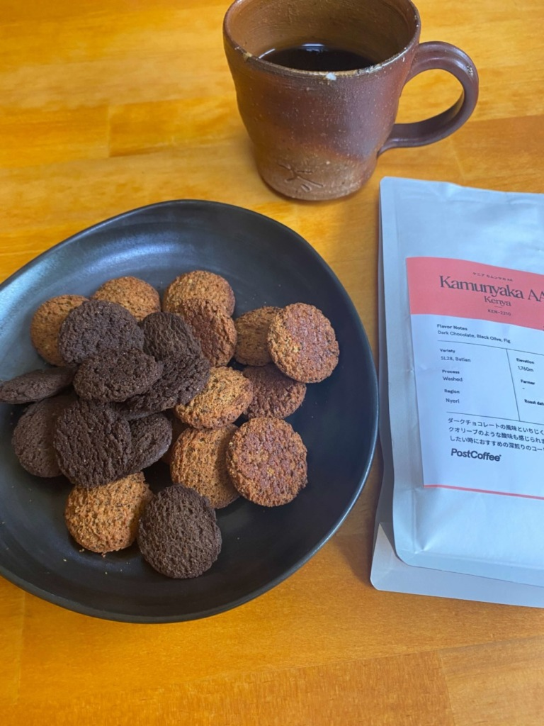 BASE Cookiesとコーヒー
